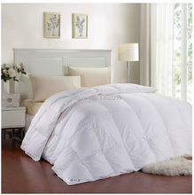 Winter 260 GSM Whites Goose Down Doona Blanket King Queen Full Twin Or Make Any Size Free Shipping