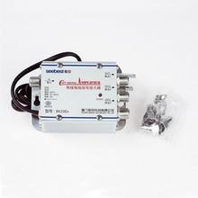 Mayitr 1 In 3 Out CATV Signalverstärker 20dB 45-860 MHz Professionelle CATV Signal Booster Splitter Kits für TV Antenne