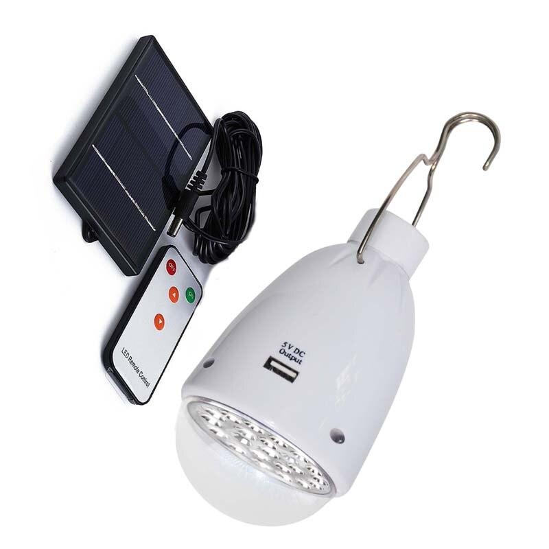 Солнечные внутреннего освещения светодиодные лампы аварийного наружного освещения caping огни Палатка лампы с USB выход заряда