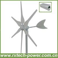 300 W hyacint windgenerator horizontale as, lage rpm windturbine generator 12 V/24 V optioneel + wind controller, 3 jaar garantie.