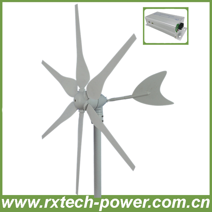 300W hyacinth wind generator horizontal axis, low rpm wind turbine generator 12V/24V optional+wind controller, 3 year warranty. mini 300w 12v 24v high quality low price horizontal wind turbine china