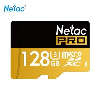 Netac Original P500 128GB 64GB Pro SDXC U3 Micro SD Card,32GB 16GB  SDHC U1 Class10 Memory Card Ultra High Speed UHS-I TF Cards