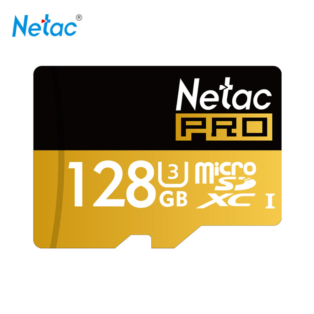 Netac Original P500 128GB 64GB Pro SDXC U3 Micro SD Card,32GB 16GB  SDHC U1 Class10 Memory Card Ultra High Speed UHS-I TF Cards best selling memory card 128gb 64gb micro sd card flash cards 8gb 16gb 32gb micro sdhc sdxc microsd tf class10 memory card