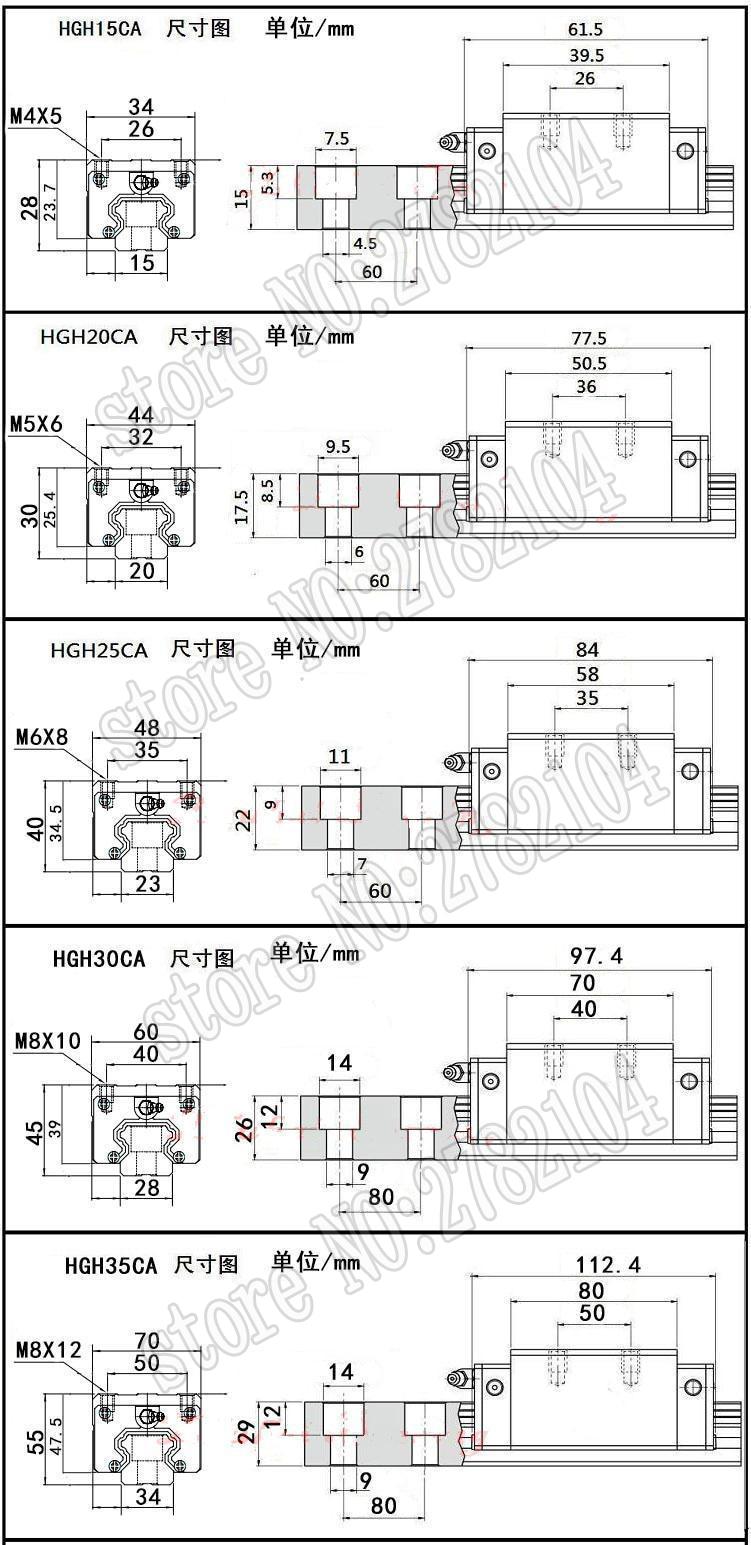 High Quality guide rail