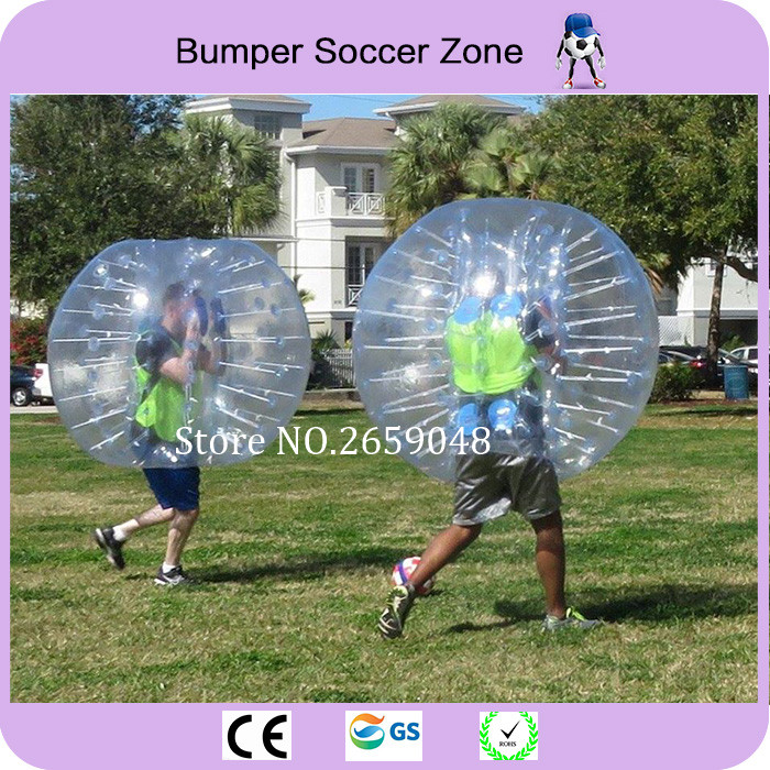 Free Shipping 0.8mm PVC Material 1.5m Inflatable Bumper Football Air Bubble Soccer Ball Bumper Soccer Ball Zorb Ball For Outdoor