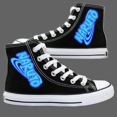 Naruto Luminous Canvas Shoes