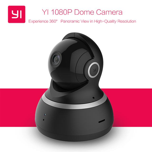[Edição internacional] xiaomi yi 1080 p câmera dome night vision pan/tilt/zoom completo sistema de vigilância de segurança sem fio ip