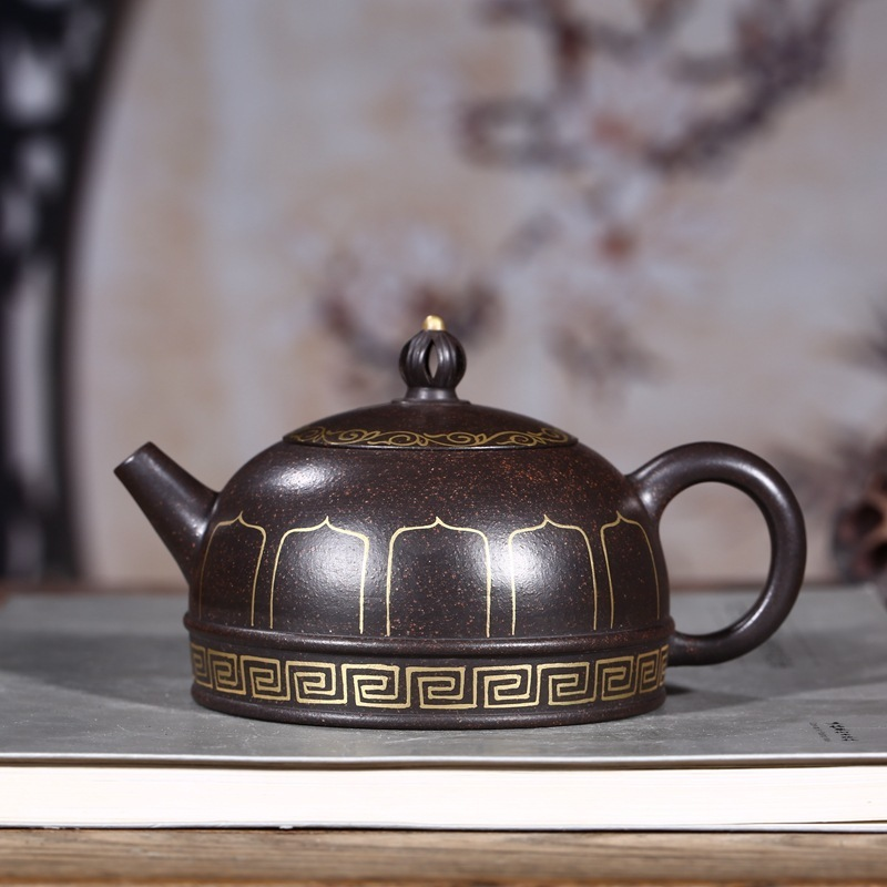Pot division all handmade yixing box kingbox paint and a half months groceries tea kettle clearancePot division all handmade yixing box kingbox paint and a half months groceries tea kettle clearance