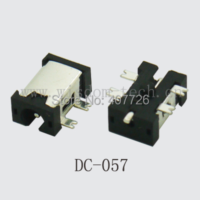 10PCS DC Power Jack Female Charging Socket + Male Plug Power Connector SMT For Tablet/Notebook Inference Plug 2.35x0.75mm DC057 500pcs 5pin 2 5mm x 0 7mm dc notebook socket female cctv charger power plug diy
