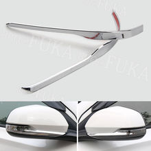 Fit For Honda HR-V HRV Vezel 2015-2017 Chrome ABS Car Rear View Side Mirror Cover Molding Trim Protector Car Styling