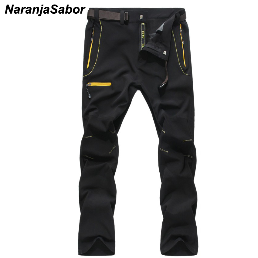 NaranjaSabor 2018 Summer Quick Dry Mens Pants Casual Men's Trousers Breathable Waterproof Men Sweatpants Mens Brand Clothing 4XL