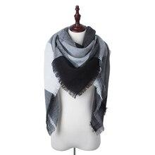 Fashion Plaid Scarves And Wraps