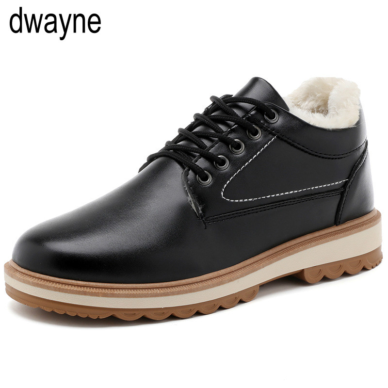 Honest 2019 Winter Warm Fur Male Shoes For Men Adult Casual Sneakers Comfortable Designer Walking Popular Footwear 763 High Quality Basic Boots Men's Boots
