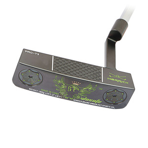 Image 2 - PVD גימור פחמן פלדת CNC הסתובב גולף להתבטל שחור לויה גולף מועדוני freeshipping