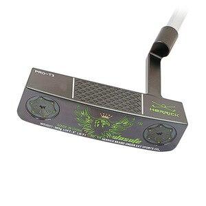 Image 2 - Pvd仕上げ炭素鋼cncミルドゴルフパター黒フェストゥーンゴルフクラブをfreeshipping