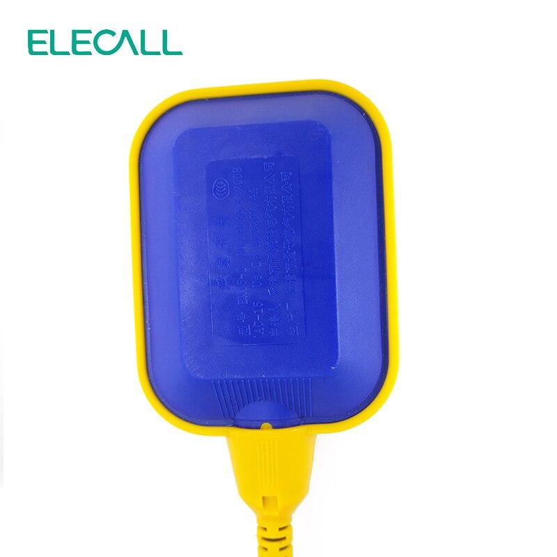 ELECALL 12M contrôleur flotteur interrupteur liquide commutateurs liquide fluide niveau d'eau flotteur interrupteur contrôleur contacteur capteur - 2