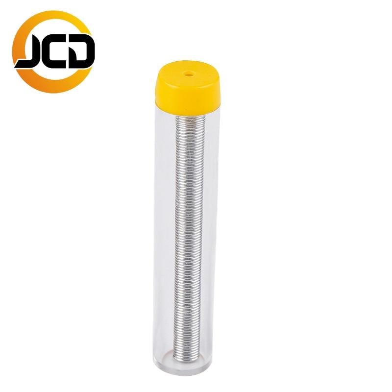 JCD fios de solda lead-free 0.8 milímetros fios De Estanho Melt Rosin Núcleo de solda Fio de solda de solda Desoldering ferramenta Acessórios top qualidade