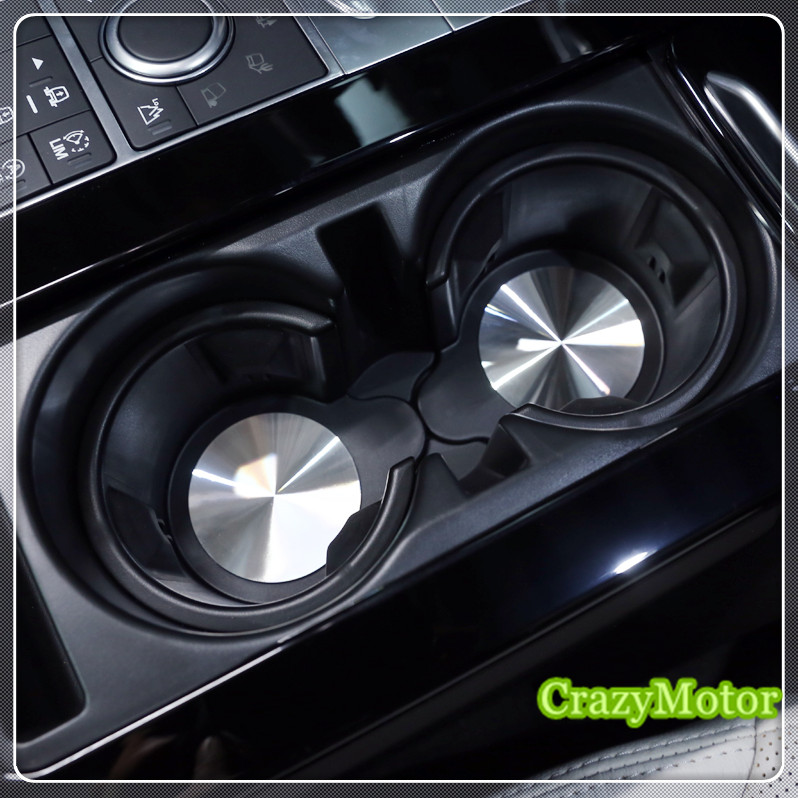 For Land Rover Discovery 4 Freelander 2 Discovery 5 Inner Car Central Console Cup Holder Pad Car Water Coaster accessories