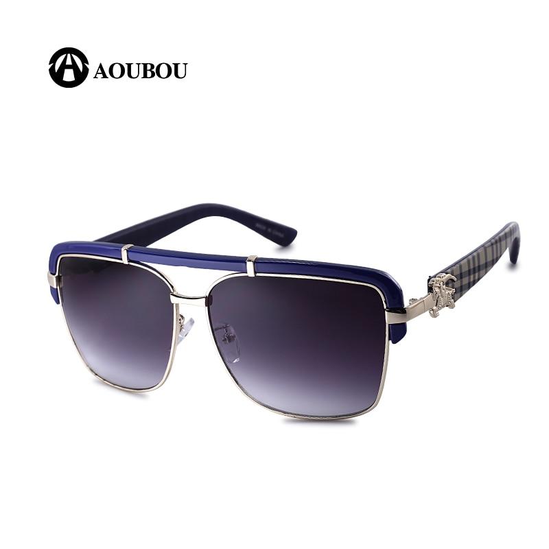 AOUBOU Brand Design Classic Logo Solbriller Mænd UV400 Drivende - Beklædningstilbehør - Foto 1