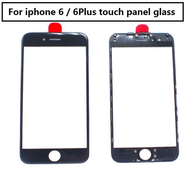 best loved 90a9d f0b3a US $14.99 |2pcs For iPhone 6s 6S plus touch panel glass with OCA Assembly  +Benzel Frame Replacement Parts For iPhone 6s Puls Touch Display-in Mobile  ...