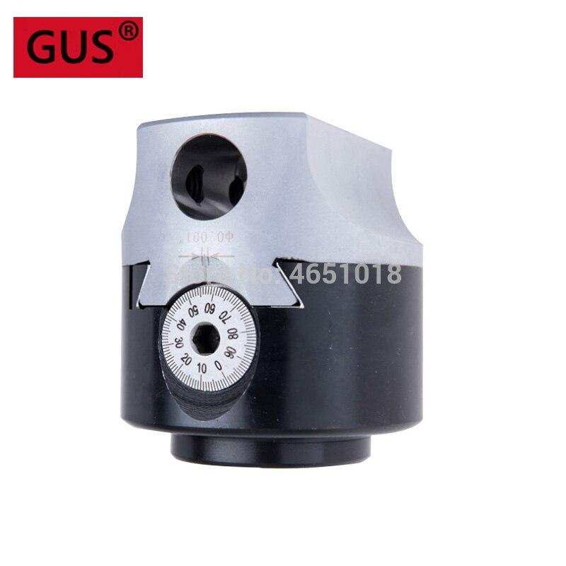 High Precision F1 -12 50mm boring head, diameter 50mm, Graduation: 0.01mm