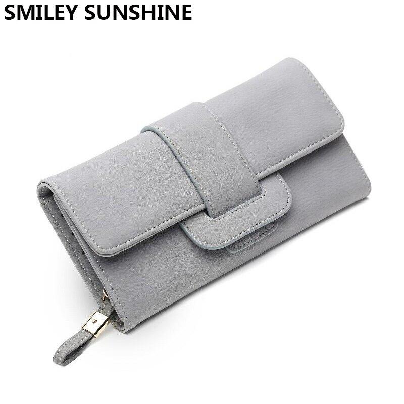 SMILEY SUNSHINE upouusi naisten lompakko korkealaatuinen kuuluisa ranneke kortti naisten lompakot pitkät hyvät kytkin kukkaro rahaa laukut