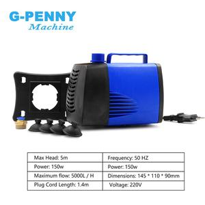 Image 4 - 3.7kw Metal working spindle kit 800Hz professional engraving on Stainless steel copper steel iron & Fuling inverter & 150w pump