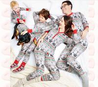 Hot Sale Warm Women Men Kid Baby Mom Dad Sweatshirt Floral Strip Print Cute Love Family