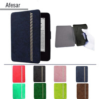 Kuesn High Quality Leather Case For Amazon Kindle Paperwhite1 2 2014 2013 Leather Cover Sleeve Pouch