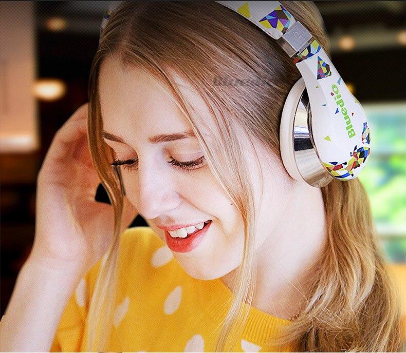 100% Orignal Bluedio A2 casque Bluetooth casque Subwoofer véritable stéréo Hi-Fi Sport casque de musique sans fil pour jeu vidéo - 5