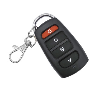 Image 5 - Drahtlose fernbedienung schalter 1Key 2Key 3Key 4Key Garage Tür EV1527 Lernen Code dc 6 V Universal Auto Auto Alarm system 433 MHz