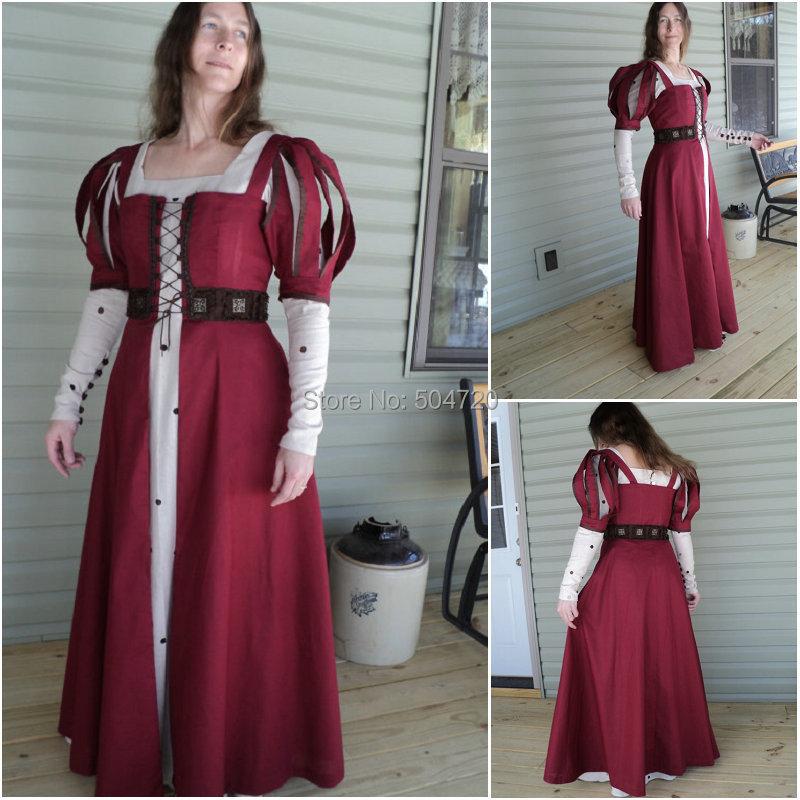 HistoricalR 638 Vintage Costumes 1860s Civil War Southern Belle Ball wedding Dress/Gothic Lolita Dress Victorian dresses