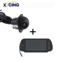 XYCING Car Rear View Monitor Auto Vehicle Parking Rearview Monitor RVC 201 + E318 Car Rear View Camera Reverse Backup Camera