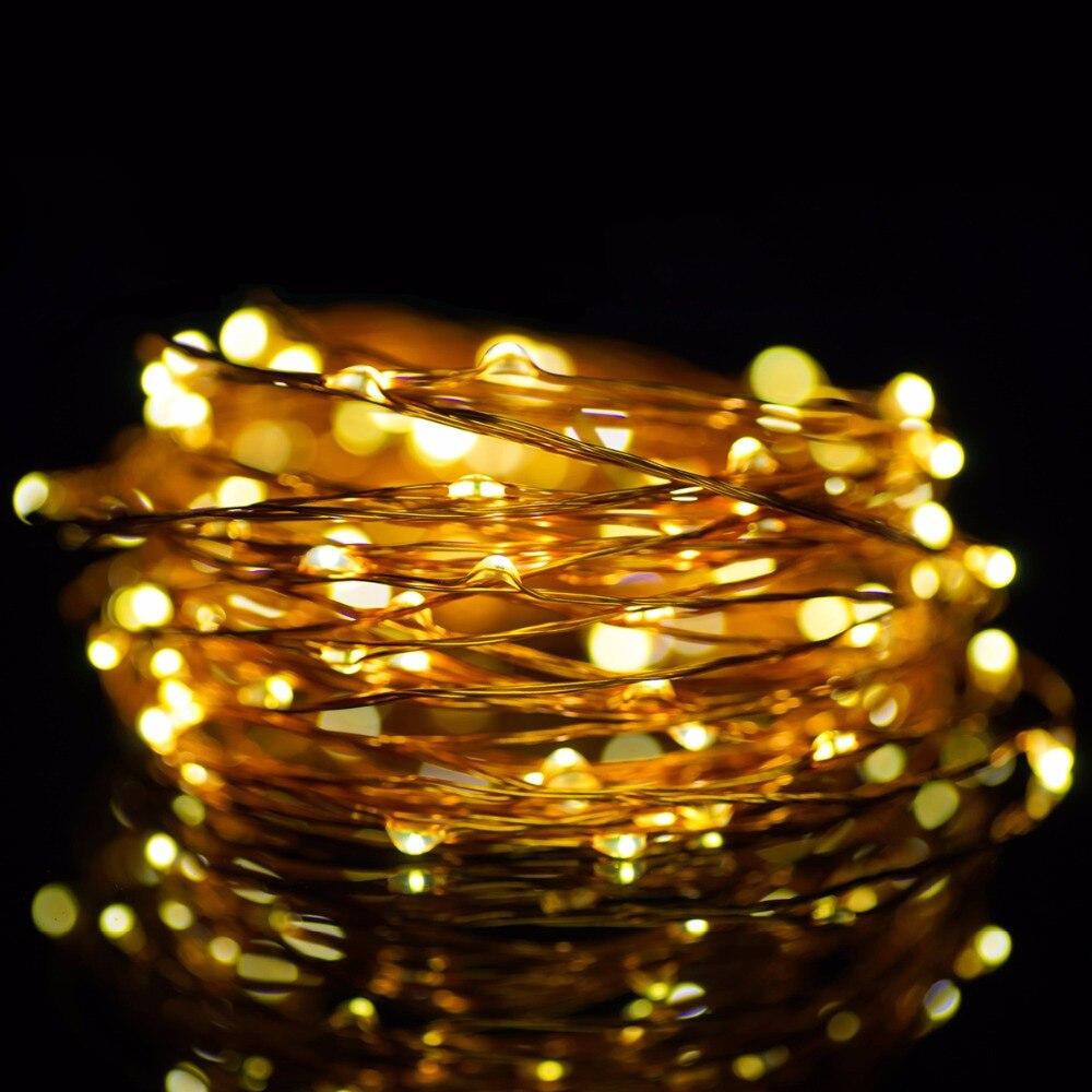 Guirnalda luces 3m 10ft 30 leds 5v string copper wire led - Guirnalda luces led ...