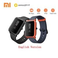 Xiaomi Amazfit Bip Smart Watch English Version Huami GPS Smartwatch Pace Lite Bluetooth 4 0 Heart