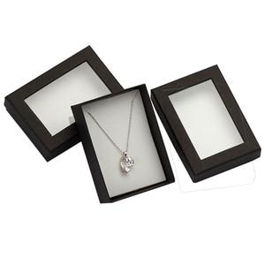Black Jewelry Box 7*9*3cm Pape