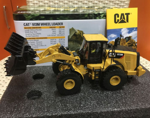 1/50 Diecast masters Caterpillar Cat 972M Wheel Loader #85927 цена