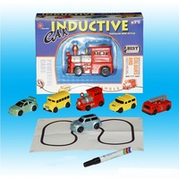Hot Sale 1 Piece Magic Truck Toy Inductive Car Magia Excavator Tank Construction Cars Free Shipping