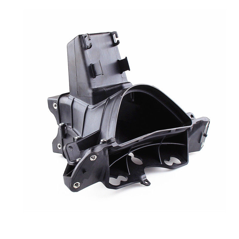 Black Headlight Upper Stay Cowl Bracket Fairing Motorcycle For Kawasaki ZX6R 2009 - 2012 2010 2011
