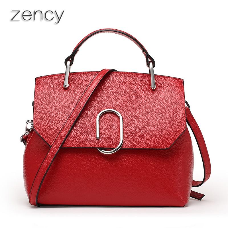 100% Genuine Leather Designer Women Shoulder Bags Real Leather Tote Bag Messenger Bags