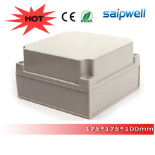 High quality widely used ABS IP66 solid cover waterproof electrical enclosure box DS-AG-1717-1 175*175*100 mm from saipwell