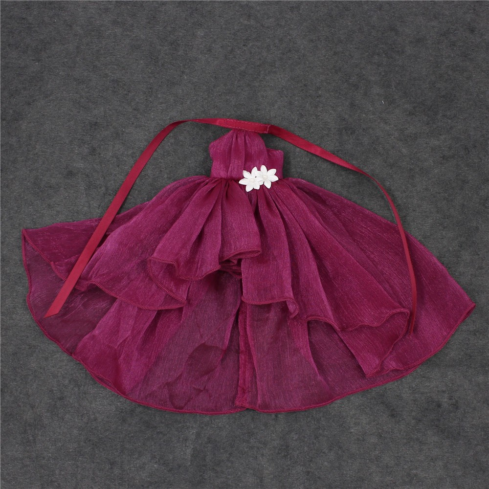 Neo Blythe Doll Chiffon Dress with Flower 21
