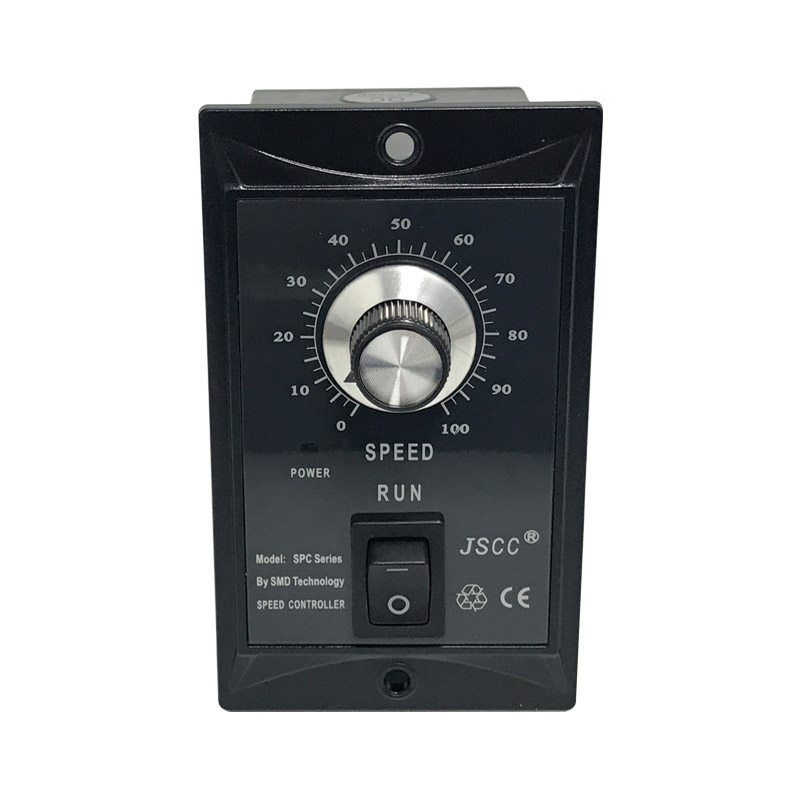 JSCC SPC Series Panel Governor SPC200E 200W Applicable Motor Power Speed ControllerJSCC SPC Series Panel Governor SPC200E 200W Applicable Motor Power Speed Controller