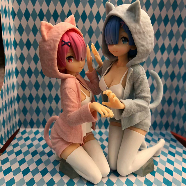 Anime Re:Life In A Different World From Zero Action Figure 1/8 scale Nyanko Mode figure Toys no retail box (Chinese Version) 2