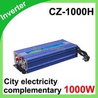 1000 Вт Модифицированная синусоида Мощность инвертор DC 12 В к AC 220 240 В конвертер + USB
