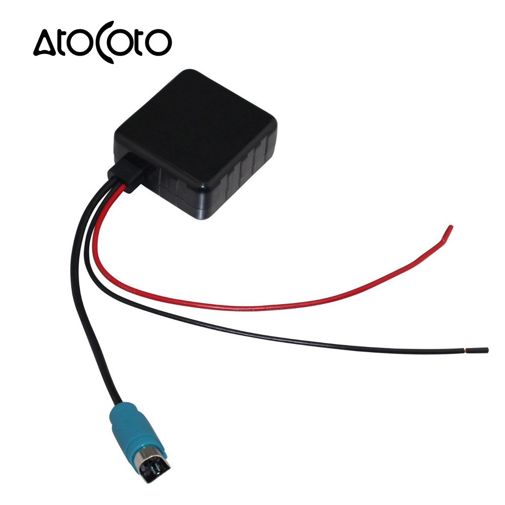 Car Bluetooth Module With Filter For Alpine Cda 9887 9856 9871 Ida Cde 9881 Wiring Harness X100 Aux Cable Adapter To Smartphone Wireless Audio Input In Cables Adapters Sockets