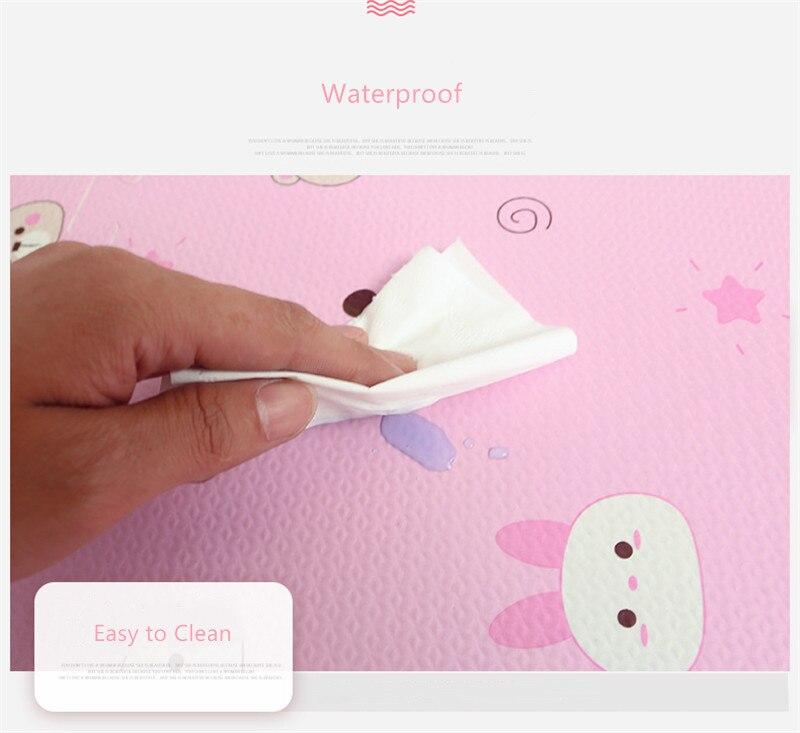 HTB1I19vav1H3KVjSZFBq6zSMXXai EVA Foam Children's Mat Split Joint Baby Play Mat Puzzle Cartoon Panda Patterns Soft Floor Carpet For Baby Crawling Exercise