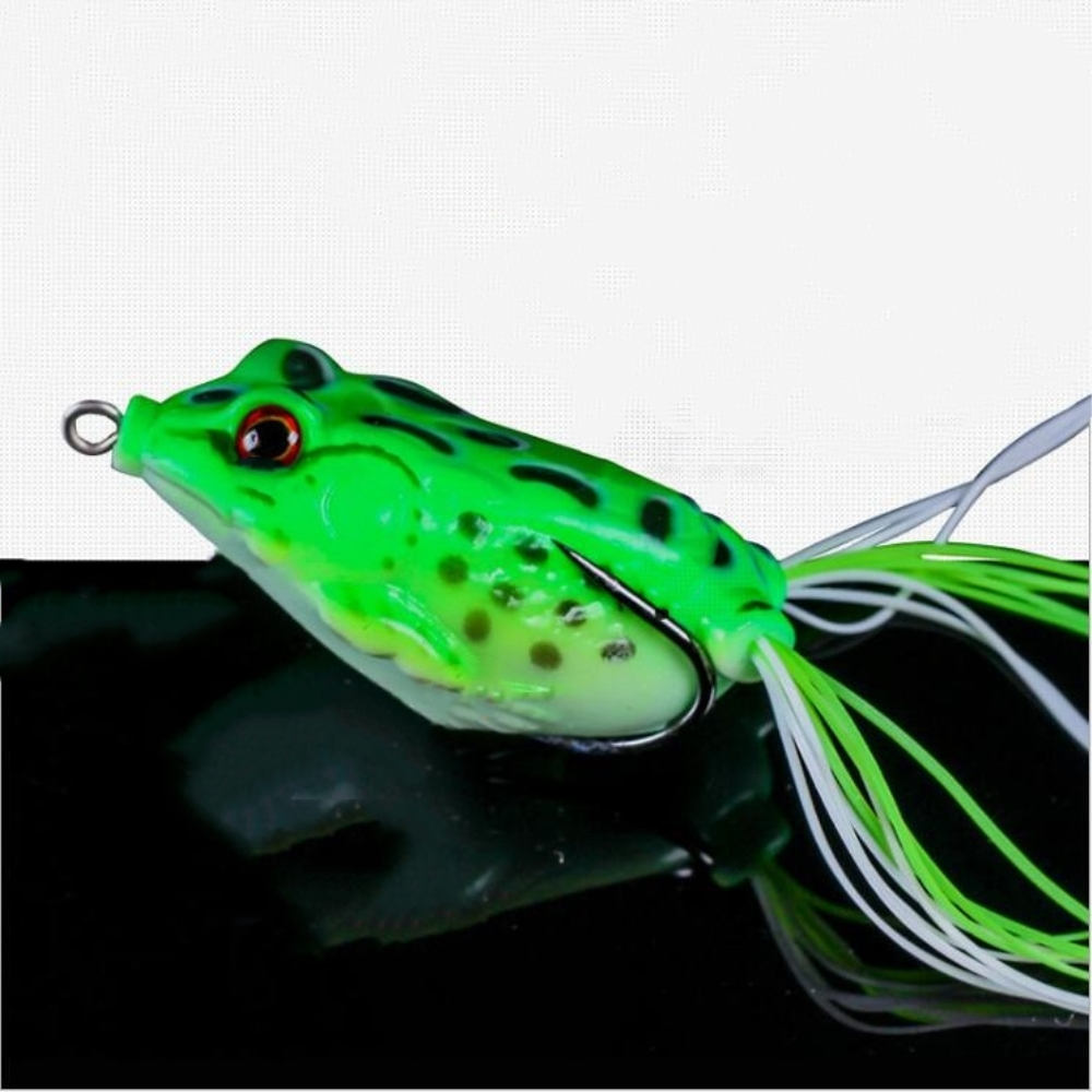 1Pc 4cm 5g Frog Fishing Lure Top Water Wobblers Minnow Crankbaits For Fly Fishing Artificial Insect Soft Lures Baits Hooks Pesca