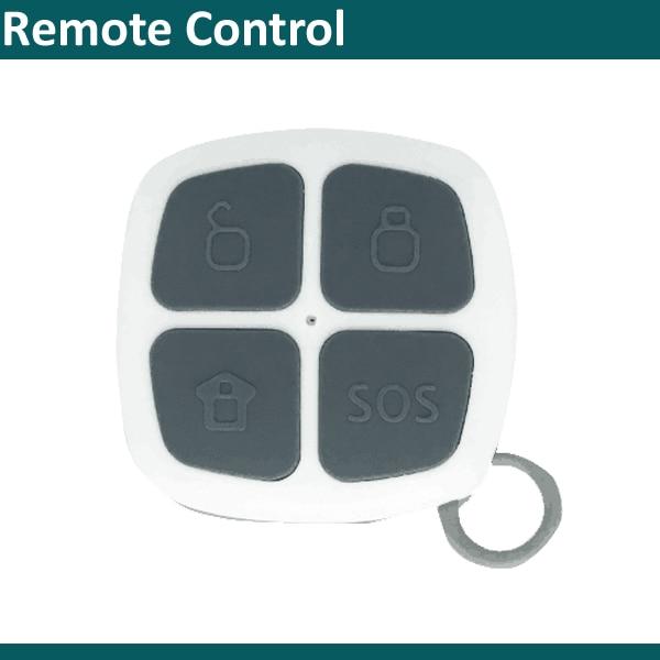 Wireless Remote Control Wireless Arm/disarm Command Keyfob