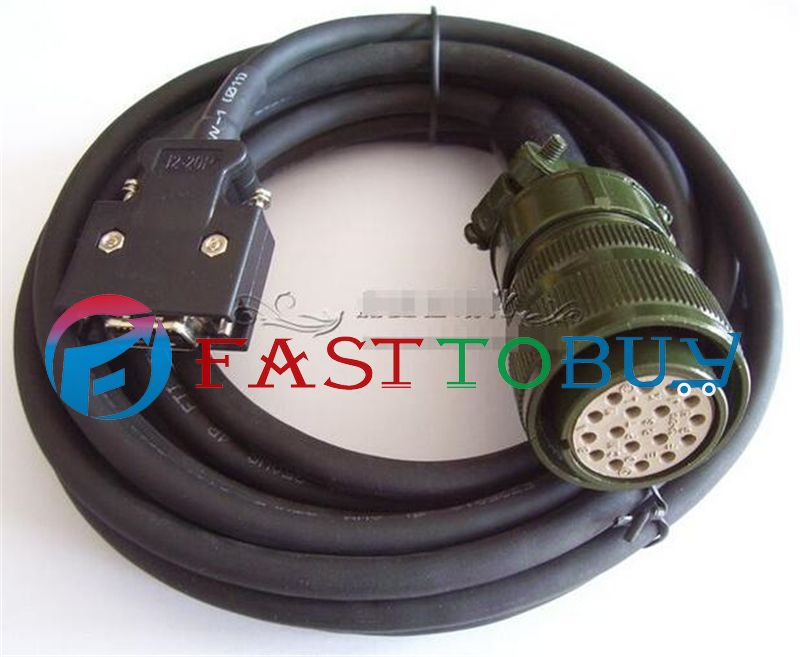 NEW MR-JHSCBL5M-L Compatible Mitsubishi Servo J2S Encoder Cable 5M One Year Warranty